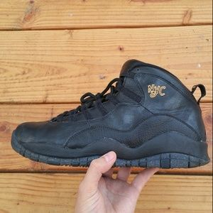 bff6c113d6d4 Nike Air Jordan 10 X Retro NYC Basketball Sneakers